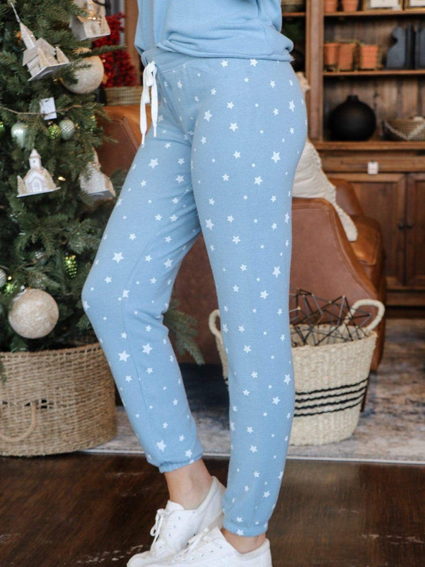 PJ Salvage Star Print Sleepwear Bottoms