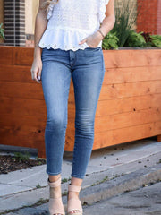 MOTHER ankle skinny jean