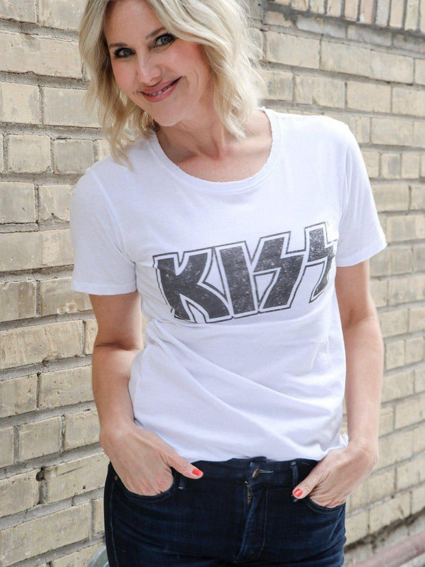 Short Sleeve KISS Graphic Tee