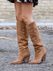 Sam Edelman Knee High Western Inspired Boot