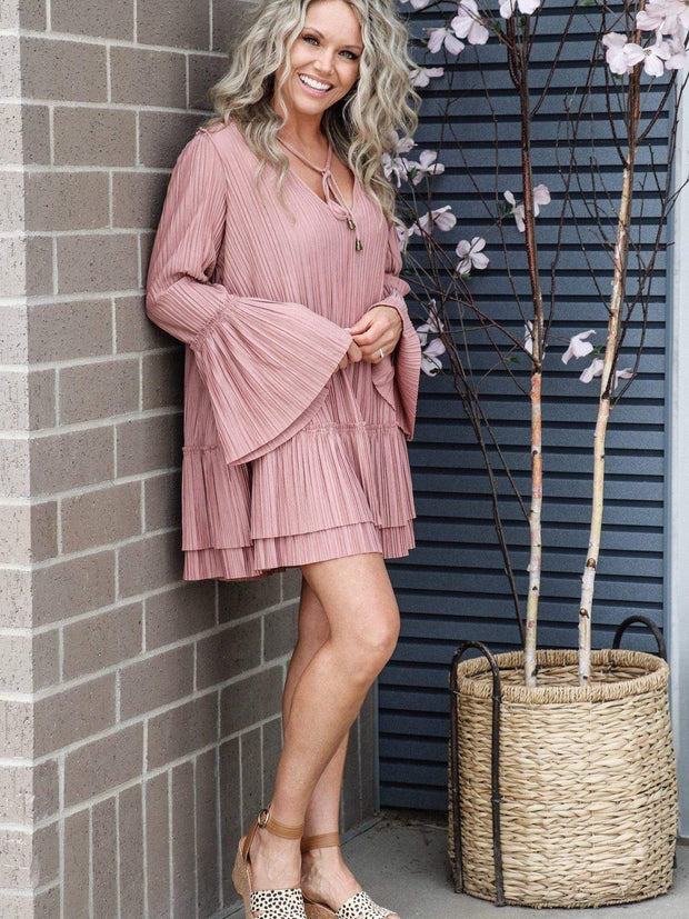 Free People pleated dress