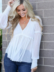 Free People vintage blouse