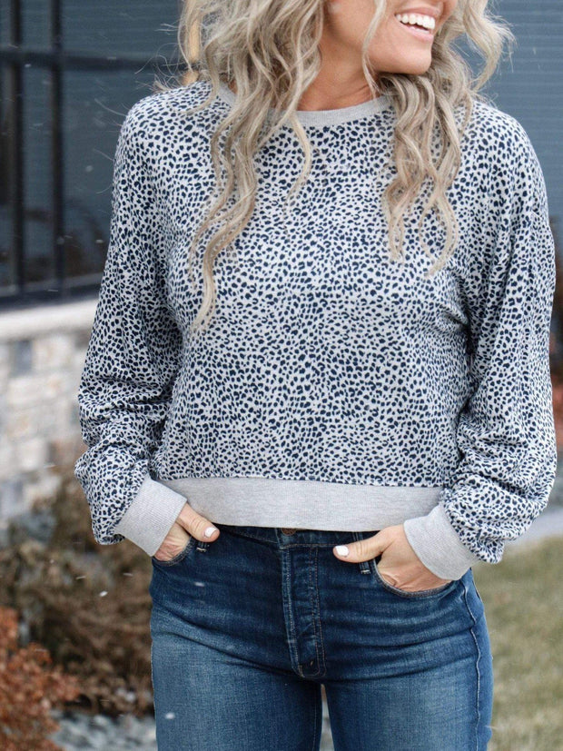 Z Supply Leopard Top