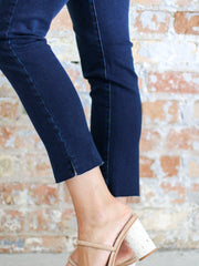Democracy Ab Solution High Rise Vintage Skinny Ankle Fray Hem