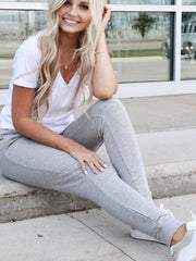 light grey jogger