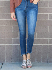 democracy skinny ankle fray jean