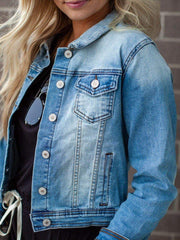 KanCan Zoey Denim Jacket