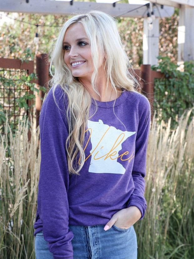 Minnesota purple sweatshirt