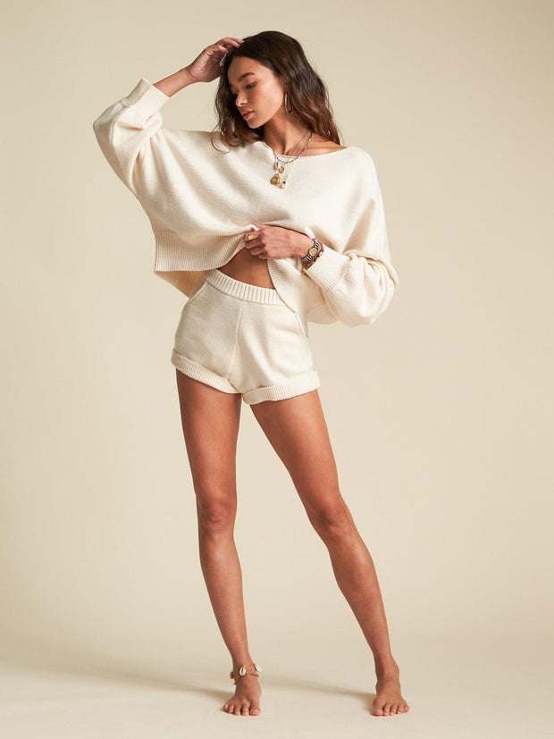 Billabong Cropped Oversize Sweater