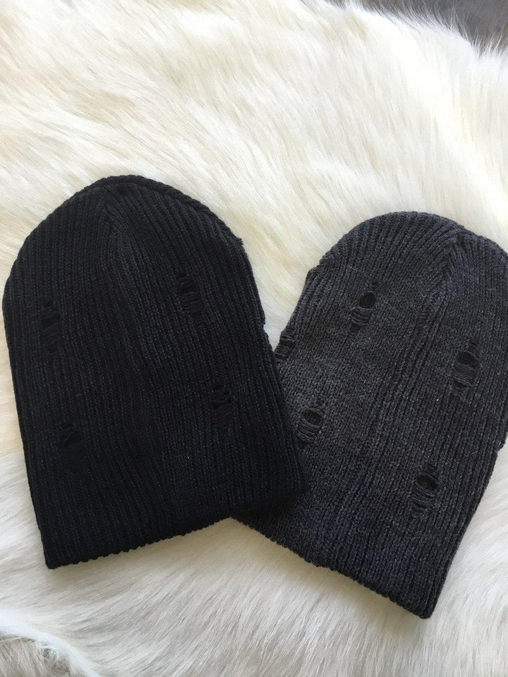 Distressed Beanie