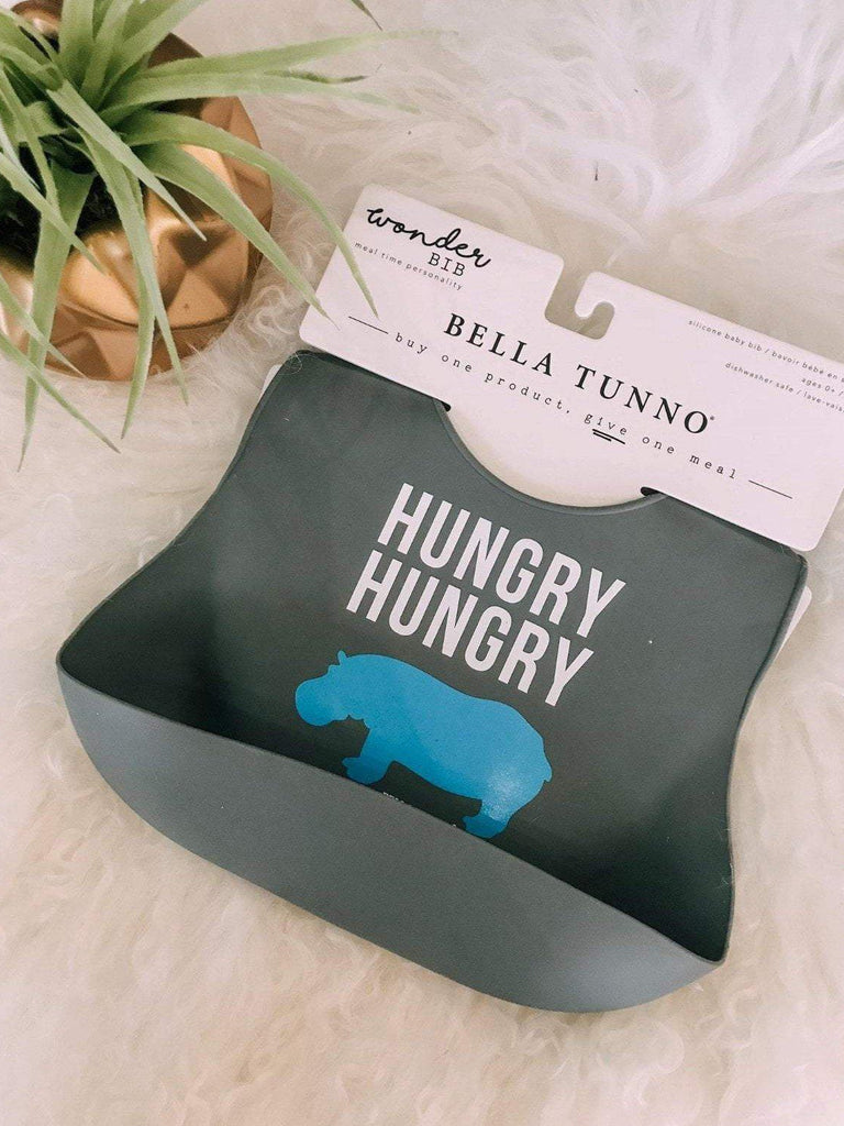 Bella Tunno Baby Gifts Bella Tunno Hungry Hippo Wonder Bib