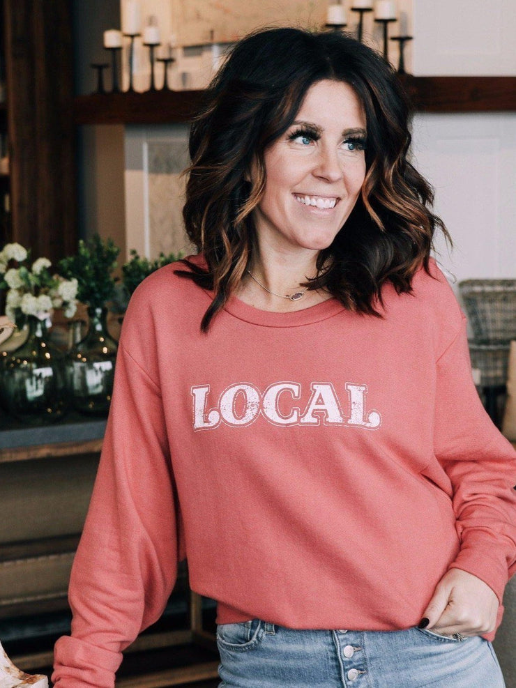 By Together Fleece Local Graphic French Terry Sweatshirt