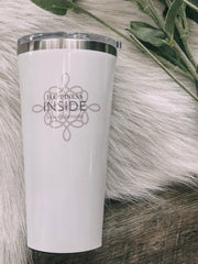 Corkcicle Glassware Corkcicle 16 oz Tumbler Custom Design