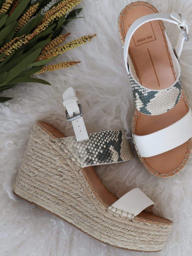 Dolce Vita Snake Wedge