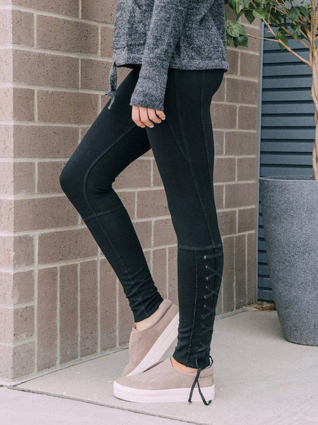 Free People Athleisure Free People Pixi Lace Up Legging
