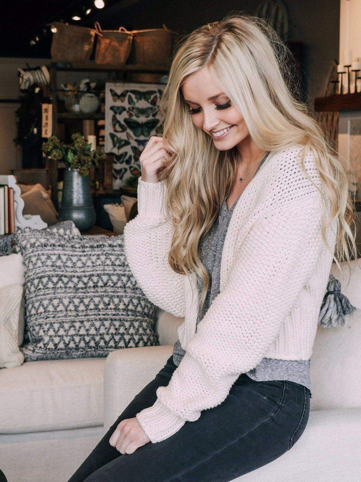 Free People Cardigans Free People Glow For It Cardi