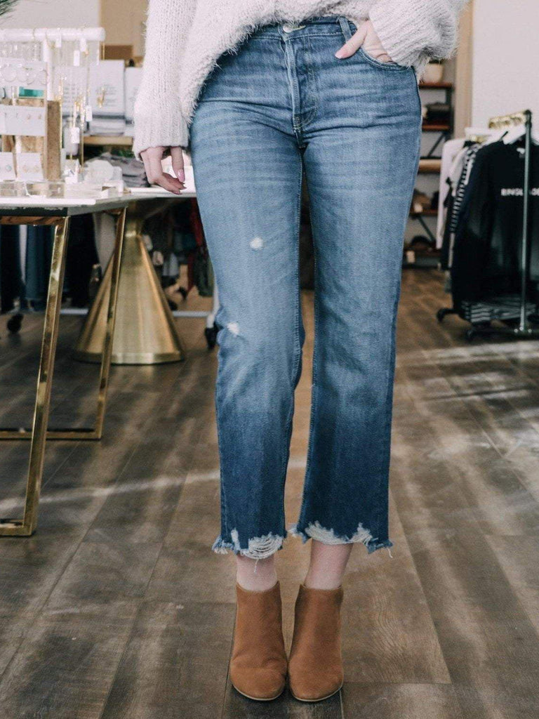 Free People Denim jeans Free People Jean Maggie Straight