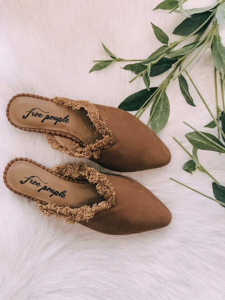 Free People Footwear Free People Newport Leather Flat