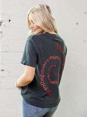 Daydreamer Rolling Stones Spiral Tongue Weekend Tee