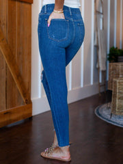 Joe's Jeans Hi Honey Skinny Ankle Bellflower