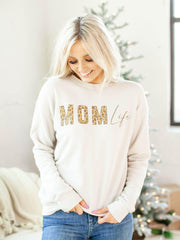 Mom Life Graphic Sweatshirt