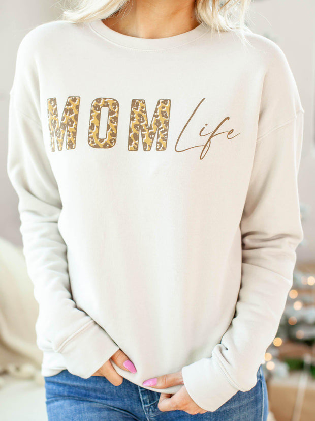 Mom Life Graphic Pullover