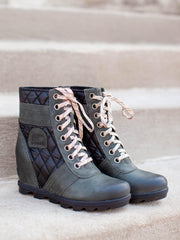 Sorel Lace Up Wedge Boot