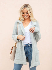 Cozy Open Front Jacket