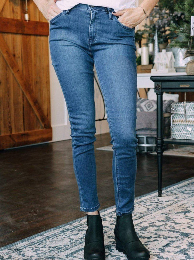 Just Black Denim jeans Just Black Super Soft Mid Rise Ankle Skinny