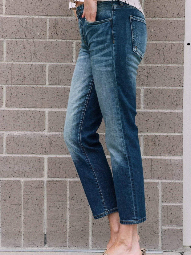 ankle straight jean