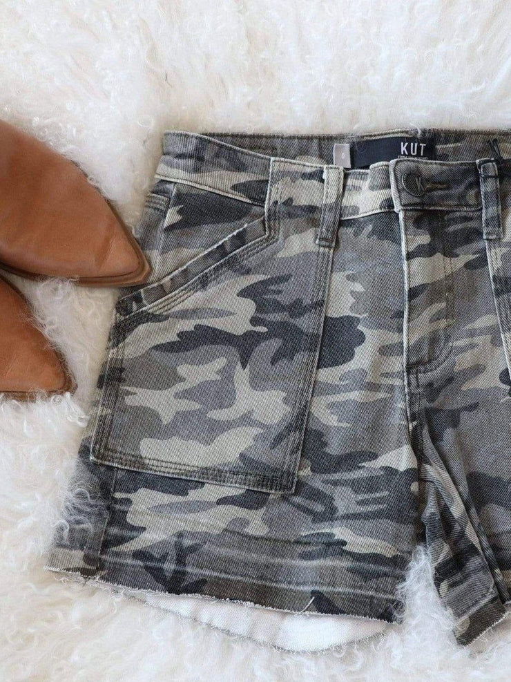 Kut from the Kloth Camo Short