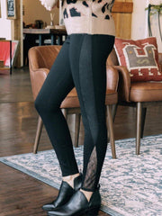 LYSSE Non-Denim bottoms Lysse Eclipse Lace Legging