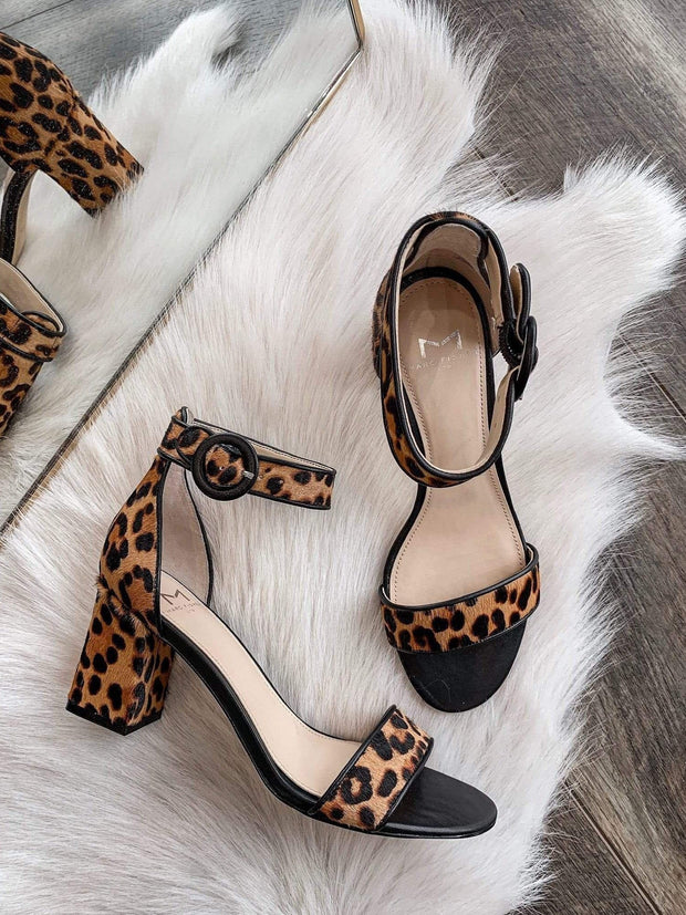 Leopard Marc Fisher heel