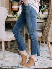 MOTHER Denim jeans MOTHER Insider Crop Step Fray