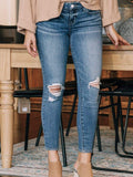 Paige Verdugo Destructed Skinny Ankle