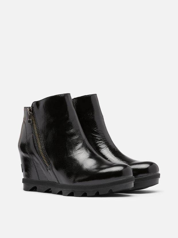 Sorel JOA Wedge II Zip - Patent Black