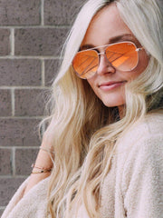 Quay Aviator Sunglasses