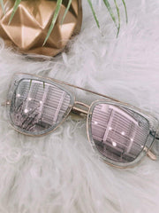 Quay clear rose French kiss sunglass