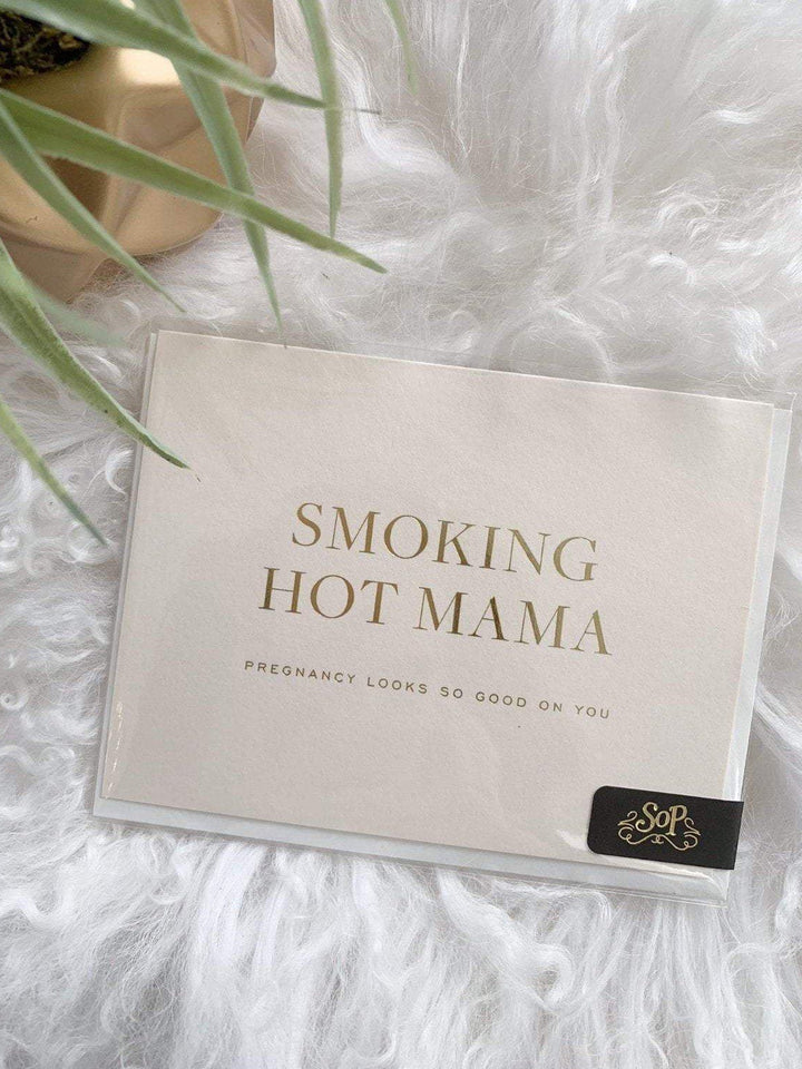 Smitten On Paper Paper products Hot Mama Greeting Card