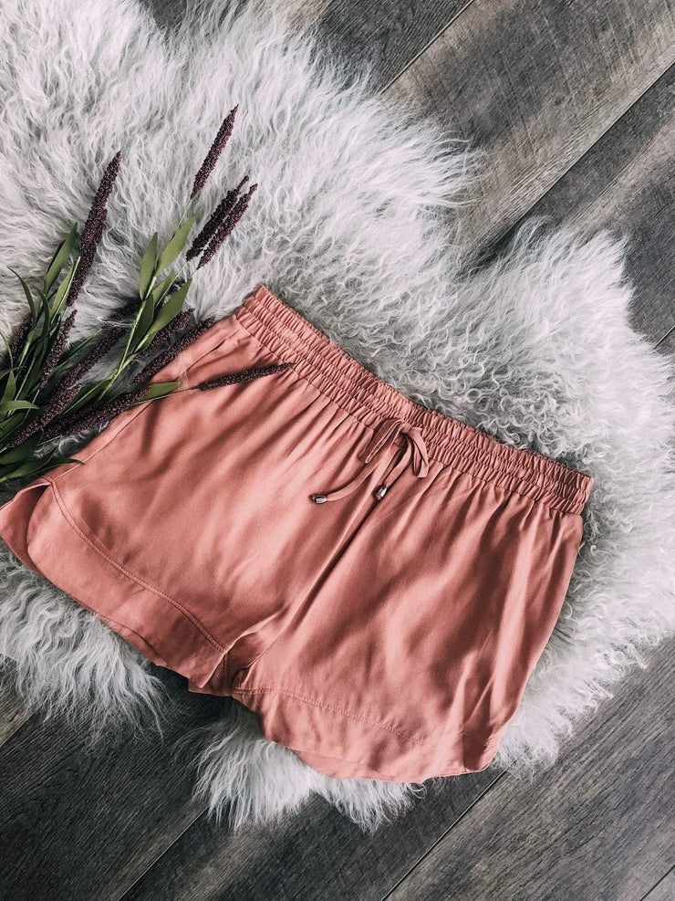 Stacatto Non-Denim Shorts/Skirts Elastic Waist Soft Short