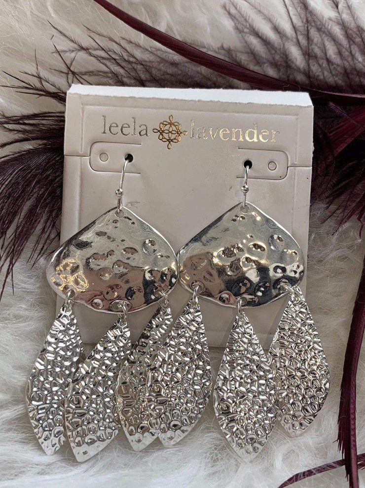 Urbanista Earrings Multi Textured Dangle Earring