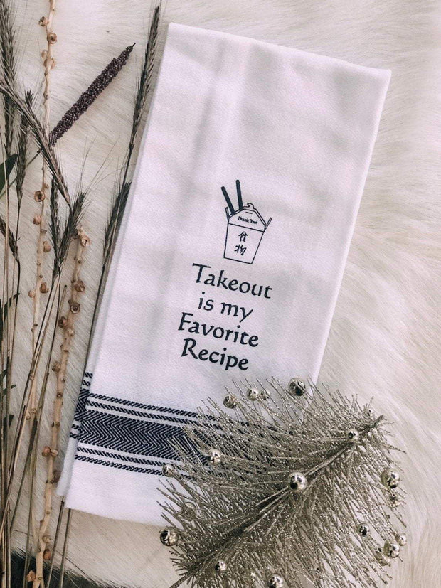 Wild Hare Designs Dishtowel Takeout Is My Fav Dishtowel