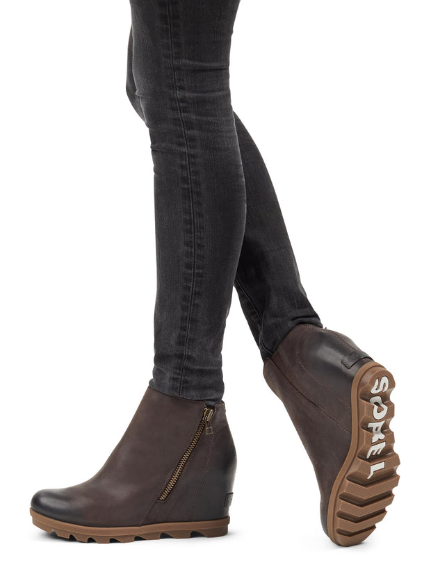 Sorel JOA Wedge II Zip - Blackened Brown