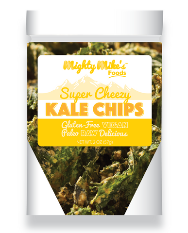 Cheezy Crunchy Kale