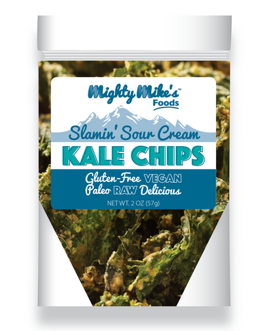 Sour Cream Crunchy Kale