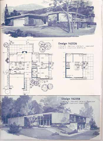 125 CONTEMPORARY HOME PLANS HOME PLANNERS 1982