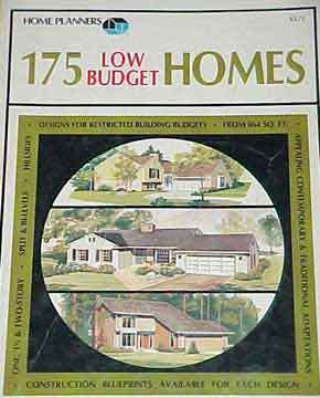 HOME PLANNERS 175 LOW BUDGET HOMES (1983 reprint)