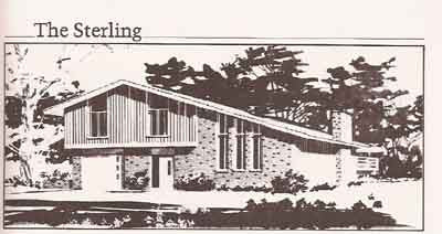 175 Home Plans Multi Level Amp Two Story Chirgotis 1979