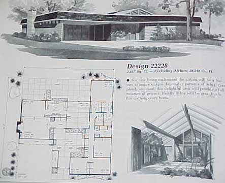 HOME PLANNERS 210 HOME PLANS - 1 STORY DESIGNS 2000 SqFt (1982)
