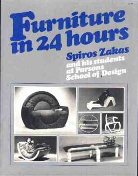 FURNITURE IN 24 HOURS BY SPIROS ZAKAS (1976)